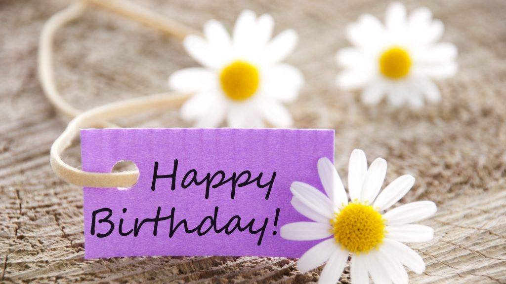 Chamomile and Birthday greeting 1024x576