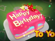 Happy Birthday cake to you