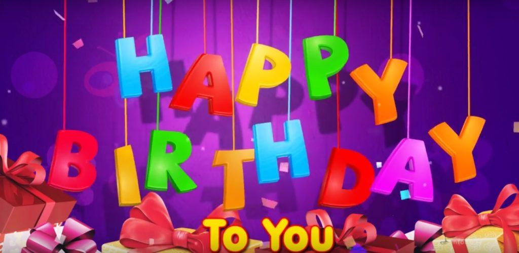 Happy Birthday to you letters 1024x500