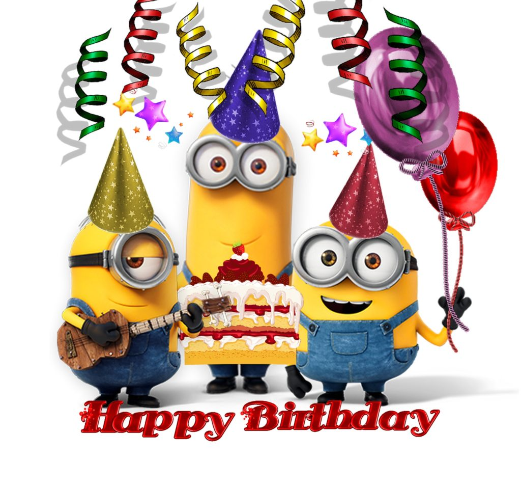 Happy Birthday with Minions