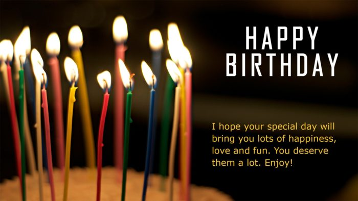 Happy Birthday Greeting and Wishes HD desktop background 700x394