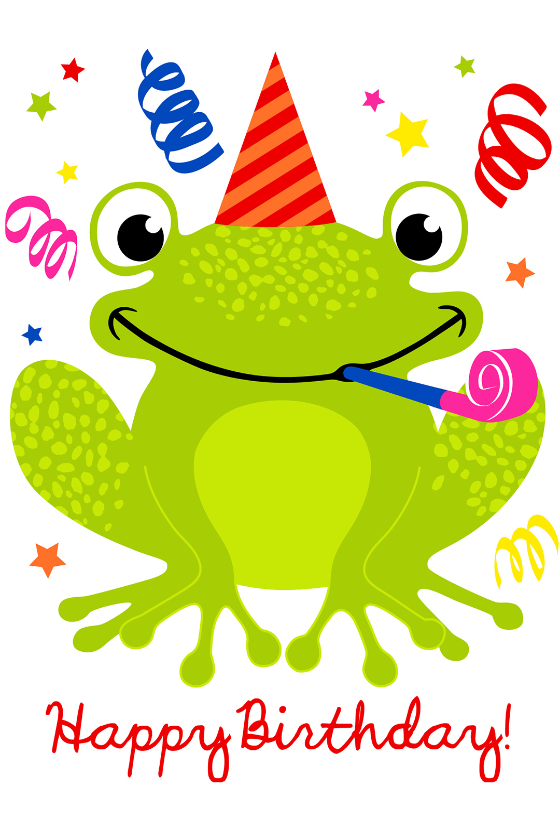 happy birthday big boy frog