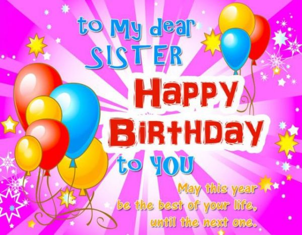 happy birthday dear sister you are amazing 1 600x466
