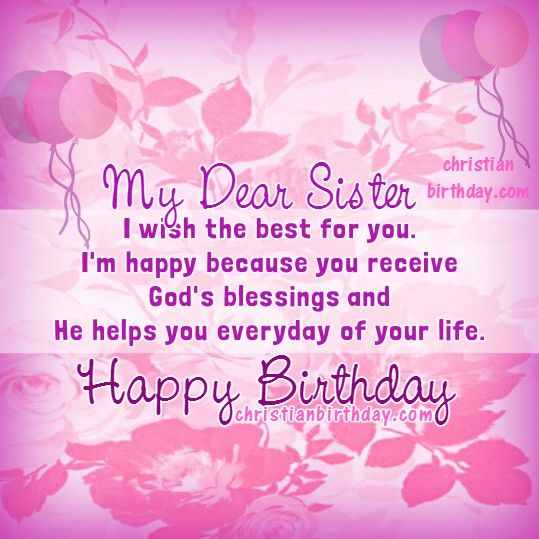 happy birthday dear sister you are amazing 2