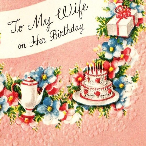 happy birthday my dear wife card 3