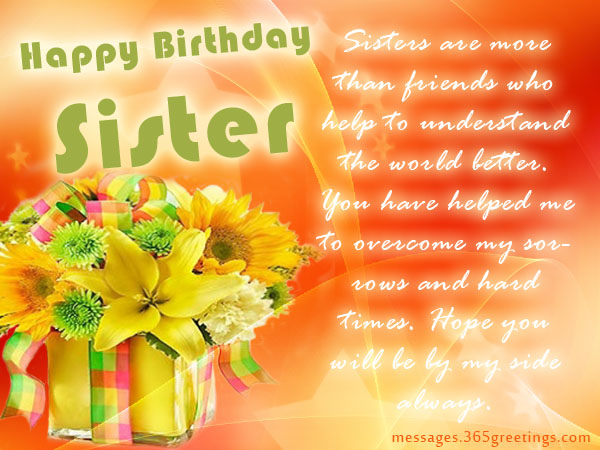 happy birthday my sweet sister 3
