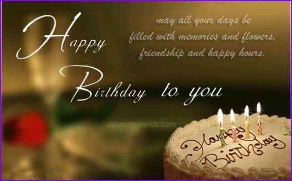 happy birthday dear friend image happy birthday pictures images pics