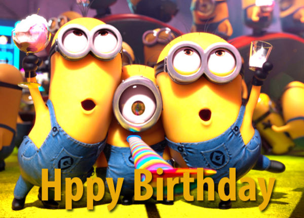 happy birthday with minions 2 600x431