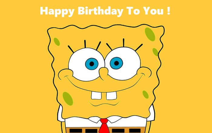 `Happy Birthday with SpongeBob SquarePants