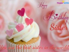 Happy Birthday sweet sister