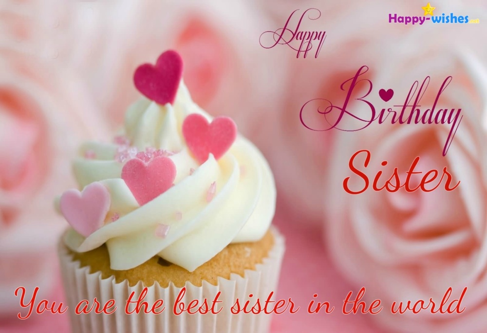 Happy Birthday Sweet Sister Happy Birthday Pictures Images Pics