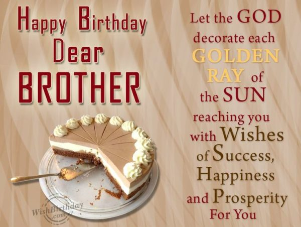 happy birthday brother simple greeting card 600x452