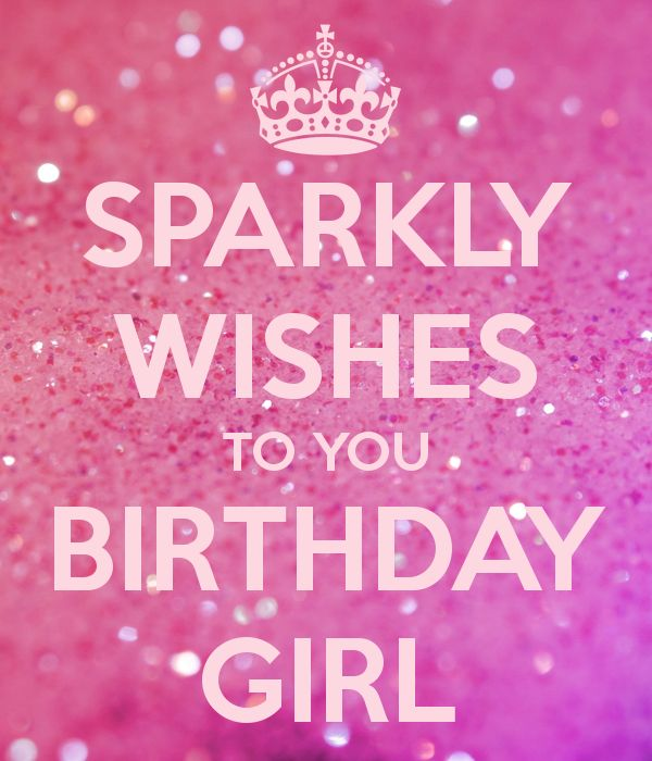 happy birthday girl pink card with wishes 2