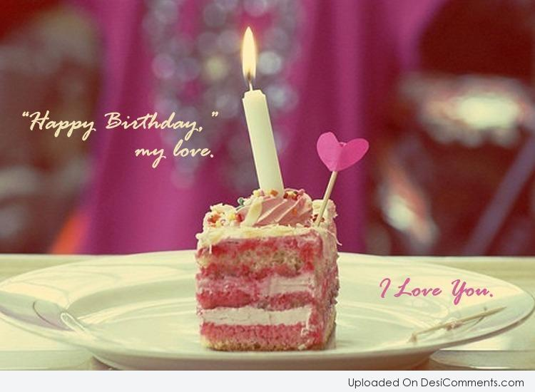 happy birthday to my love red handmade heart hd wallpaper 4