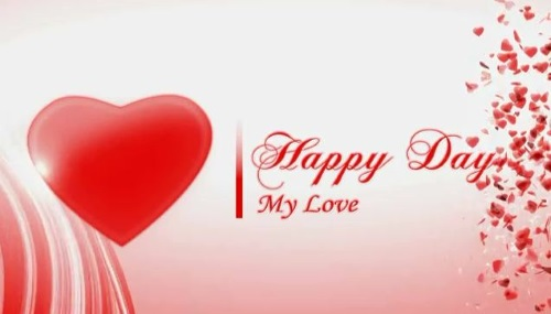 happy birthday to my love red handmade heart hd wallpaper 5