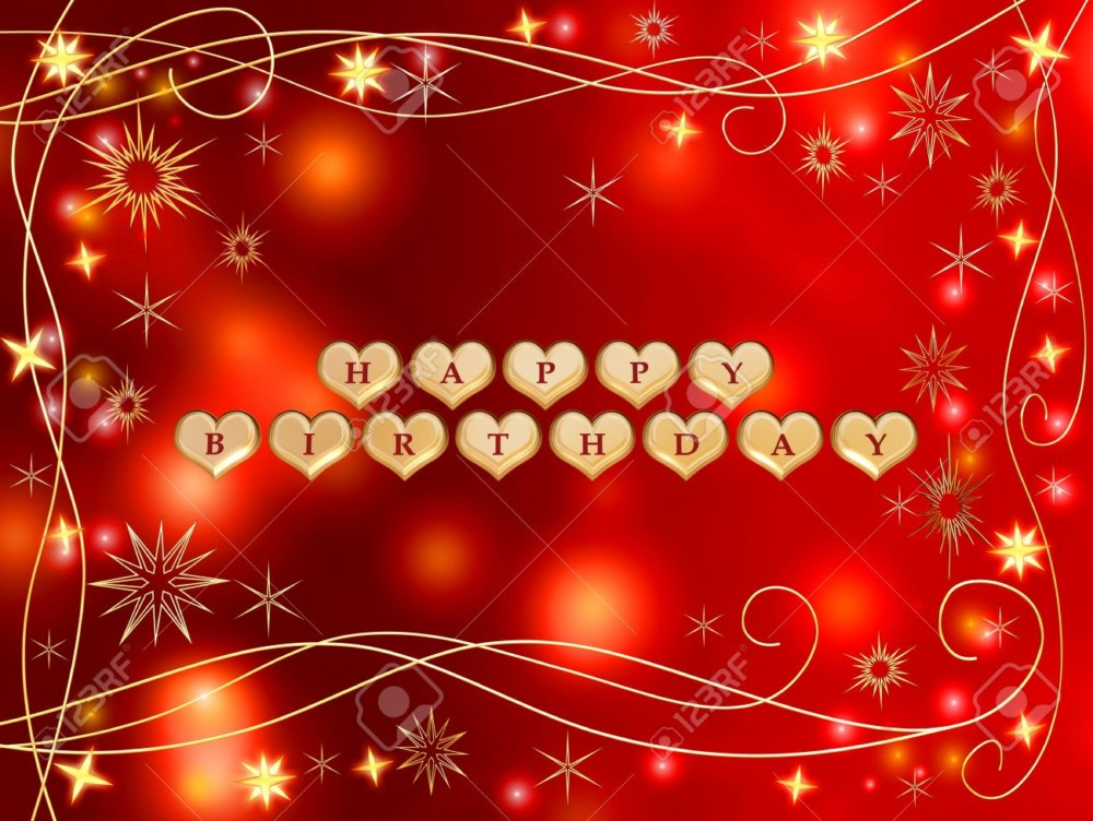 happy birthday to my love red handmade heart hd wallpaper 6