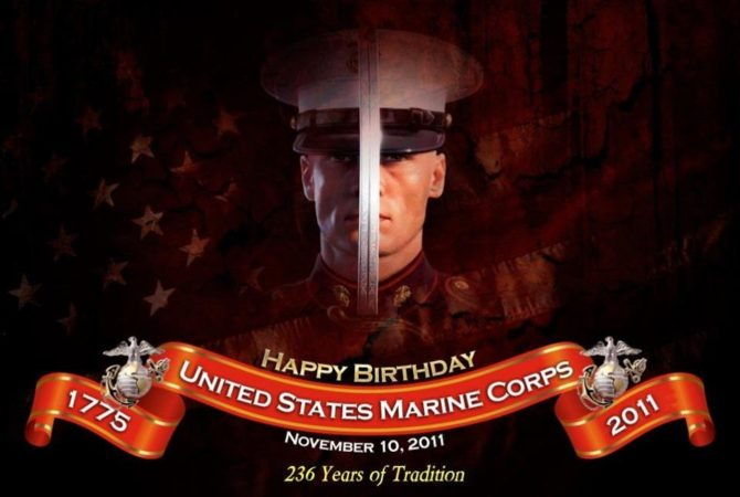 Happy Birthday, Marine corps 5
