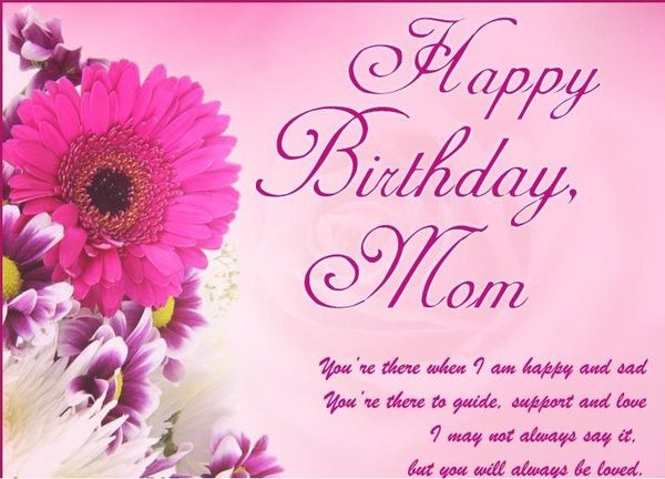 8 Attractive happy birthday mom images