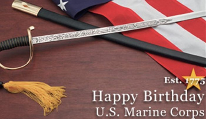 Happy Birthday U.S. Marine Corps 700x404