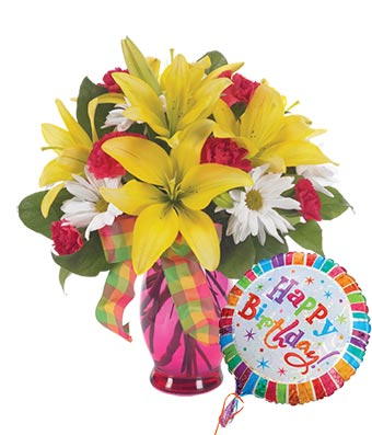 Happy Birtday beautiful flowers images 1
