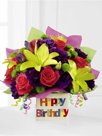 Happy Birtday beautiful flowers images 11