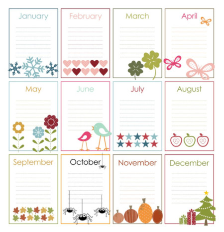 Happy Birtday Calendars Images 2
