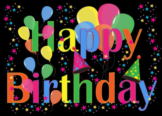 birthday celebration card 629x450