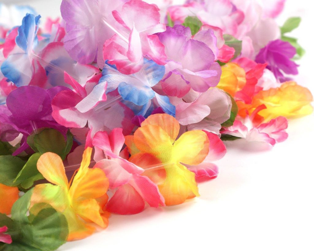 Hawaiian Luau Leis Necklaces