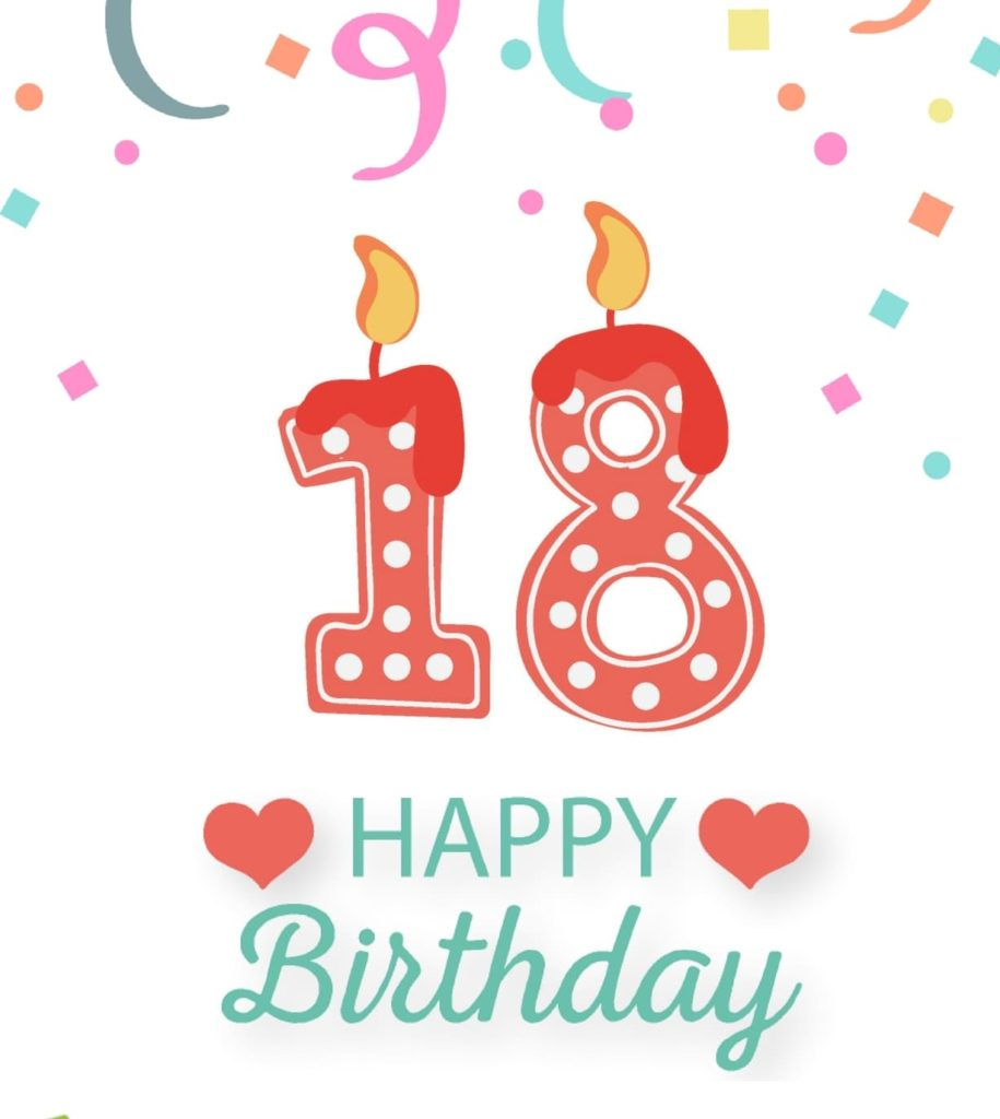 happy 18th birthday images 2