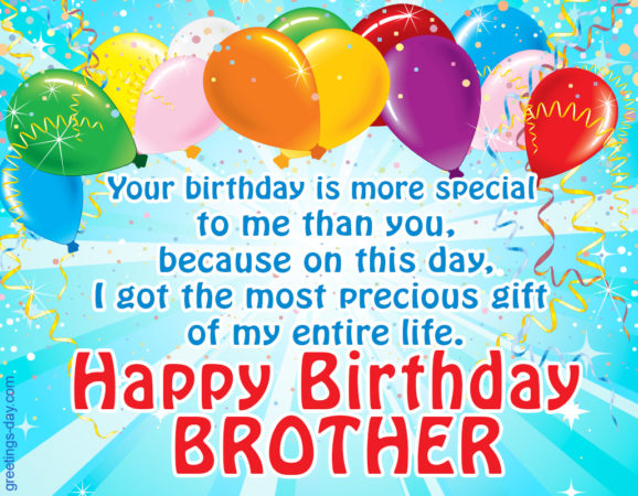 happy birthday dear brother 578x450
