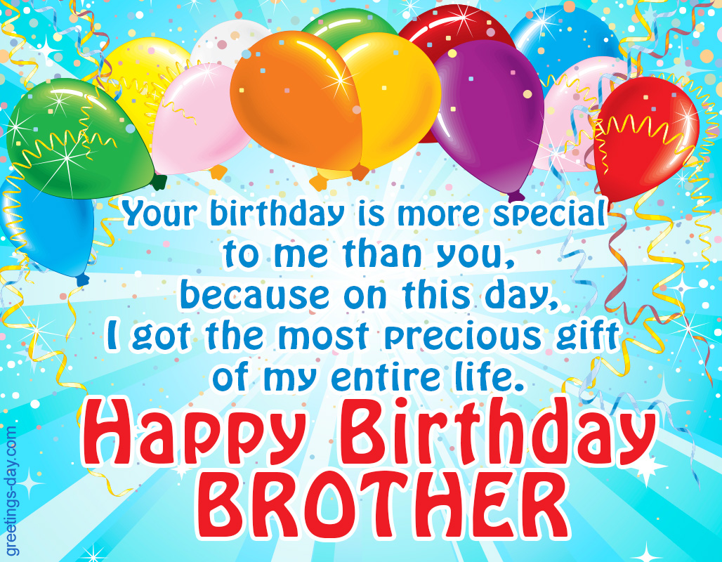 Happy Birthday To My Brother 6