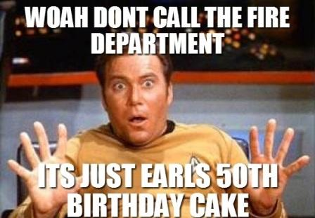 Sarcastic 50th Happy Birthday Memes