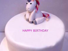 unicorn happy birthday cake with name 1 232x174