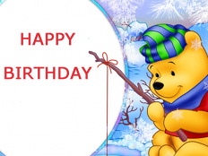 write name on winnie the pooh birthday card 1 232x174