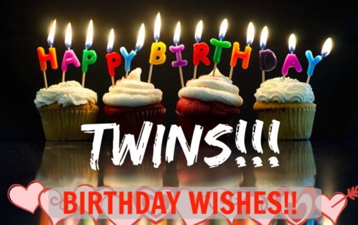 Happy Birthday Twins Sister 2