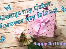 Best Birthday Gifts For Sister